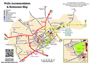 Wells Accommodation & Restaurant Map Preview