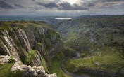 A view of Cheddar and Axbridge Reservoir.  Image © Cheddar Caves & Gorge.