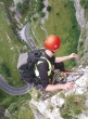 Abseiling in the Gorge. Image © Cheddar Caves & Gorge.