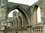 Some of the remaining arches of the Abbey.