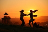 Dancing in the sunset. Image © Jason Bryant