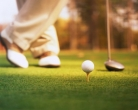 There are many golf courses in the area for those who need to hit a ball.