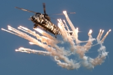 Sea King Flares © Gordon Jones - Global Aviation Resource