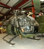 BO105M - production example built in 1984. Five seat general purpose helicopter. Image © The Helicopter Museum.