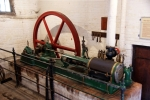 This engine was manufactured in 1886 by W & F Wills & Co of Bridgwater and spent its working life in a local brickworks powering a clay mixer for the manufacture of bricks and tiles. Image © Alan Davies