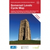Somerset Levels Pocket Cycle Map